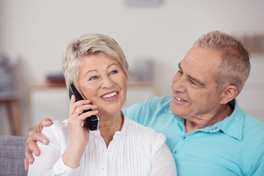 a house phone home phones way to stay connected at home Best landline-style home telephones for 55+ Active Adults and for seniors  with dementia
