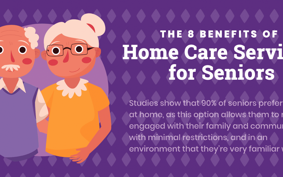 The 8 Benefits of Home Care Services for Seniors
