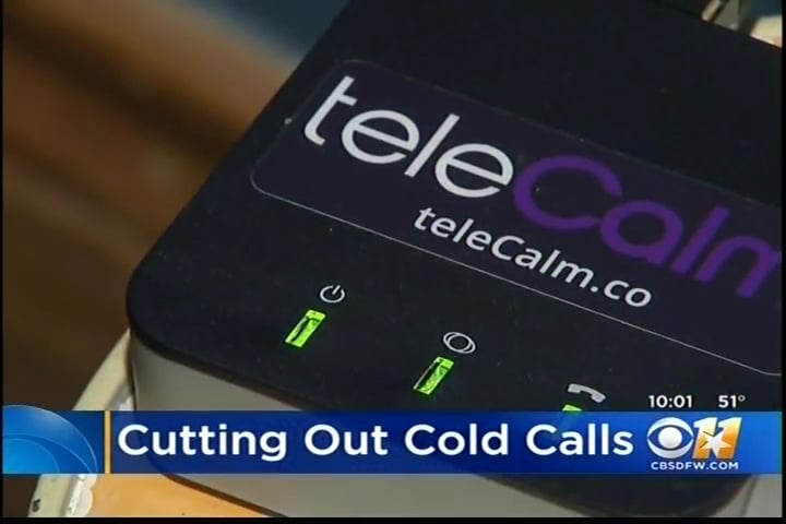 Cutting Out Scams with teleCalm – CBS KTVT-11 Dallas