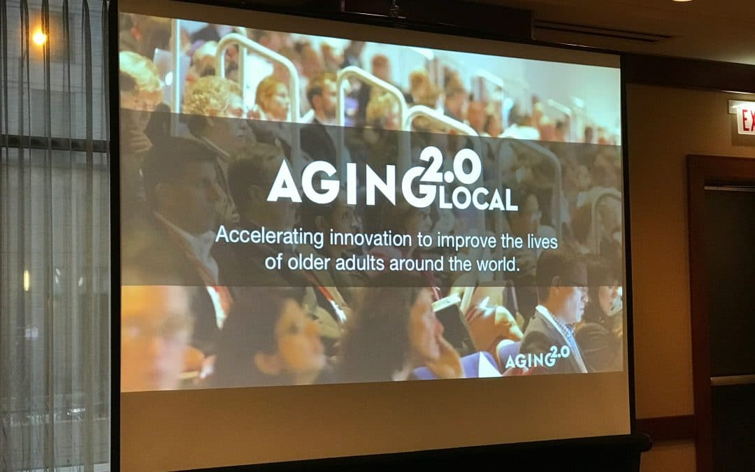 teleCalm Presents Its Innovative Service to Aging 2.0 in Chicago