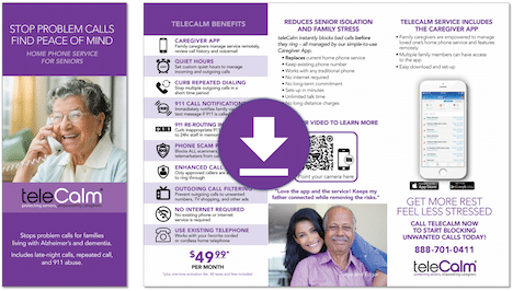 Download our Caregiver Brochure