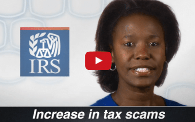 IRS Scams On The Rise