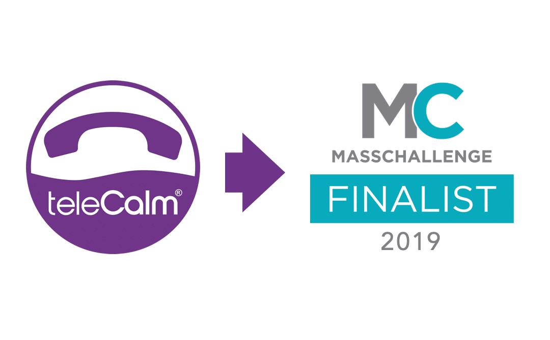 teleCalm selected by MassChallenge Texas 2019